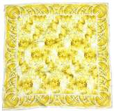 Tiffany & Co. Yellow & White Floral Silk Scarf