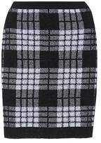 Balmain Mohair and wool-blend skirt
