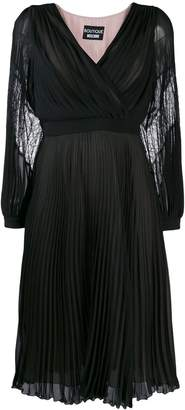 Moschino pleated midi dress