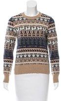 Libertine Patterned Cashmere Sweater