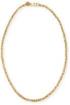 "Ashley Pittman Hisia Long Hammered Bronze Link Necklace, 40"""