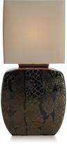 Mikasa Bronze Animal Print Ceramic Table Lamp