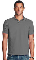 Polo Ralph Lauren Classic-Fit Weathered Mesh Solid Short-Sleeve Polo Shirt