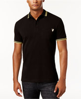 Versace Men's Embroidered Polo