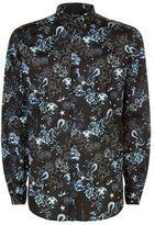 Just Cavalli Mini Dragonfly Print Shirt