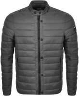 Replay Quilted Jacket Grey