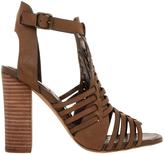 Steve Madden Sandrina Natural Leather Sandal