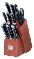 Chicago Cutlery Damen 14 Piece Knife Block Set Black