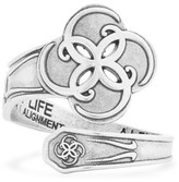 Alex and Ani Breath of Life Spoon Ring