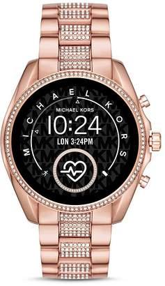 Michael Kors Bradshaw 2 Pavé Link Bracelet Touchscreen Smartwatch, 44mm