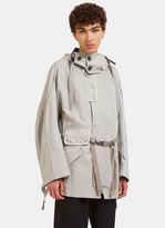 Lanvin Men's 3m Taped Parka Jacket In Grey
