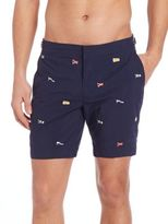 Polo Ralph Lauren Flag Embroidered Shorts