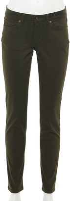 Sonoma Goods For Life Women's Curvy High-Waisted Sateen Skinny Pants