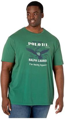 Polo Ralph Lauren Big & Tall Big Tall Classic Fit Graphic T-Shirt (Verano Green) Men's Clothing
