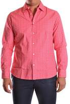 Altea Men's Red Cotton Shirt.