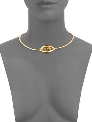 Aurelie Bidermann Red Light Collar Necklace