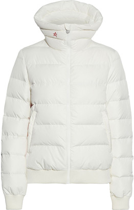 Perfect Moment Super Star Quilted Color-block Down Ski Jacket