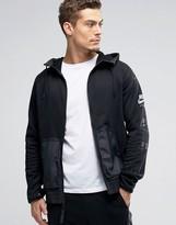 Nike International Windbreaker Jacket In Black 802480-010