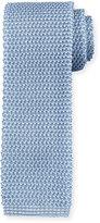 Peter Millar Textured Silk Knit Tie, Light Blue