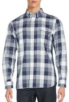 French Connection Button-Down Gingham Shirt