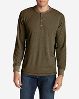 Eddie Bauer Men's Wapato Long-Sleeve Henley Shirt