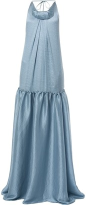 Roland Mouret Ventana dropped waist gown