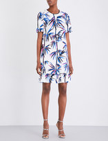 Emilio Pucci Bamboo-print twill dress