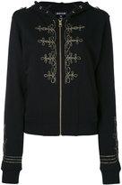 Just Cavalli zipped hooded jacket