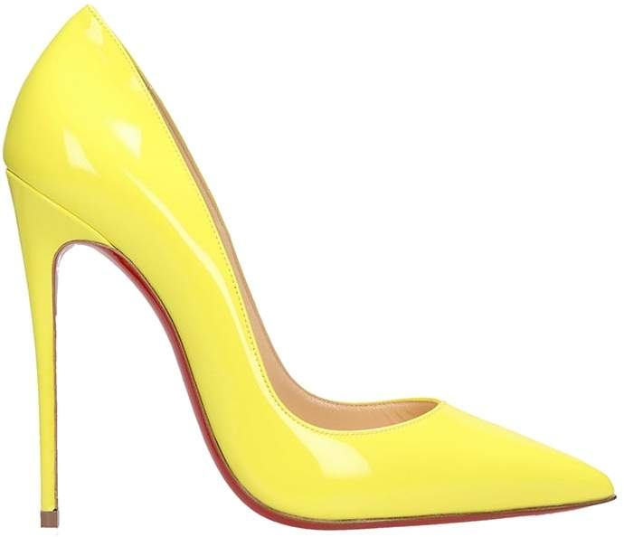0241f1c23ac So Kate 120 Yellow Patent Leather Pumps