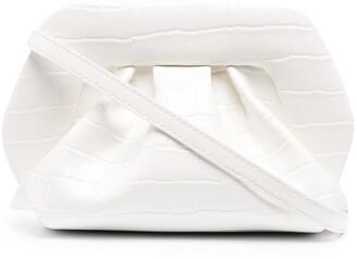 Themoire Crocodile-Effect Faux-Leather Clutch Bag