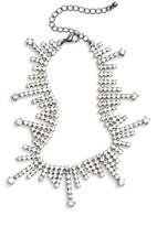 BP Women's Rhinestone Drop Necklace