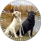 "Ikea New Labrador Retriever hunting Wall Clock 10""Nice Gift Wall Decor Y35"