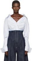 Jacquemus Blue 'La Chemise Beauduc' Shirt