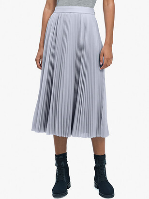 Kate Spade Sparkle Chiffon Pleated Skirt