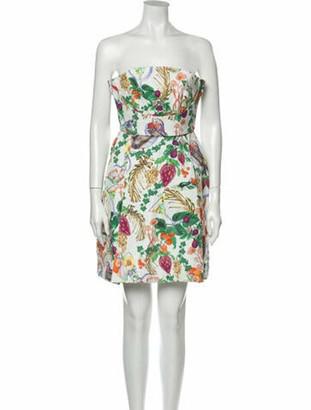 Matthew Williamson Printed Mini Dress w/ Tags