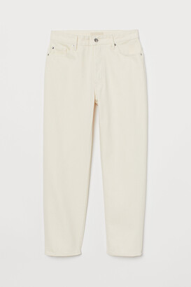 H&M Straight Ankle Jeans
