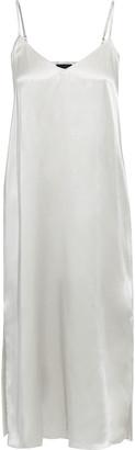 ATM Anthony Thomas Melillo Silk-charmeuse Slip Dress