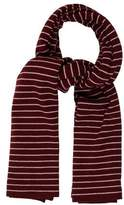 Prada Striped Knit Scarf