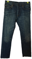 Christian Dior Blue Cotton Jeans