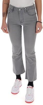 Frame Le Crop Mini Boot Raw Hem Jeans