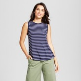 Merona Women's Striped Muscle Tank