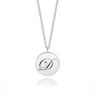 Myia Bonner Sterling Silver Initial D Edwardian Pendant