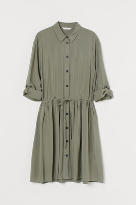 H&M Shirt Dress - Green