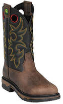 "John Deere Men's Boots 11"" Western Work Steel Toe 5322 Boot"
