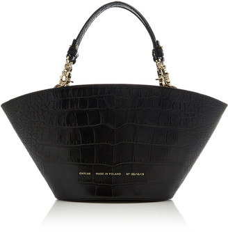 Chylak Small Croc-Effect Leather Tote