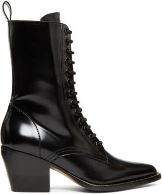 Chloé Black Rylee Medium Boots