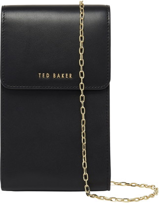 Ted Baker Eesssma Leather Phone Crossbody Pouch