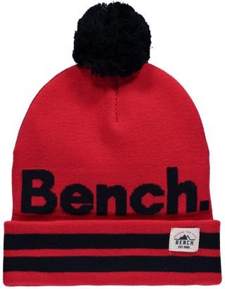 Bench Boy's Turn Up Bobble Beanie Hat