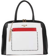 Nicole Lee Women's Kimetha Trio Color Block Dome Bag