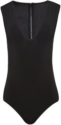 Alice + Olivia Marley Sleeveless Thong Bodysuit